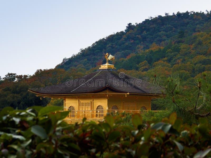 Templo de Kinkaku-Ji fotografia de stock