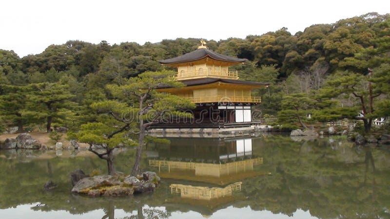 Templo de Kinkaku-Ji fotos de stock royalty free