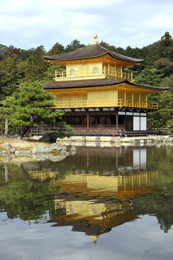 Templo de Kinkakuji foto de stock royalty free