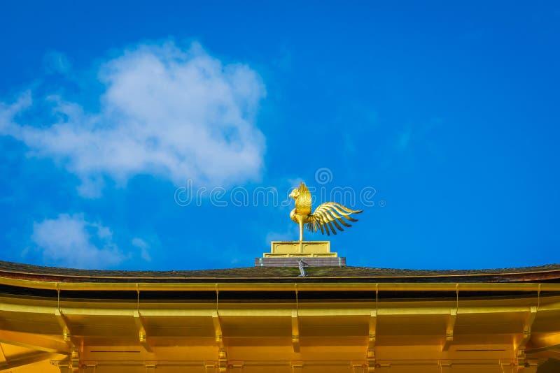 Templo de Kinkakuji el pabellón de oro en Kyoto, Japón imágenes de archivo libres de regalías