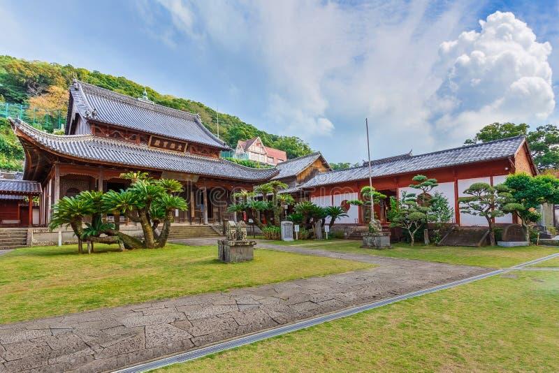Templo de Kofuku-ji en Nagasaki foto de archivo