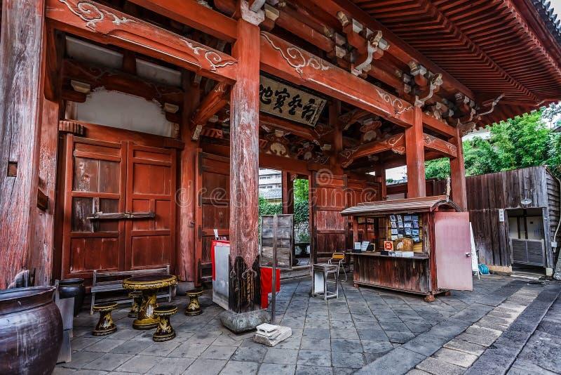 Templo de Kofuku-ji en Nagasaki fotos de archivo libres de regalías