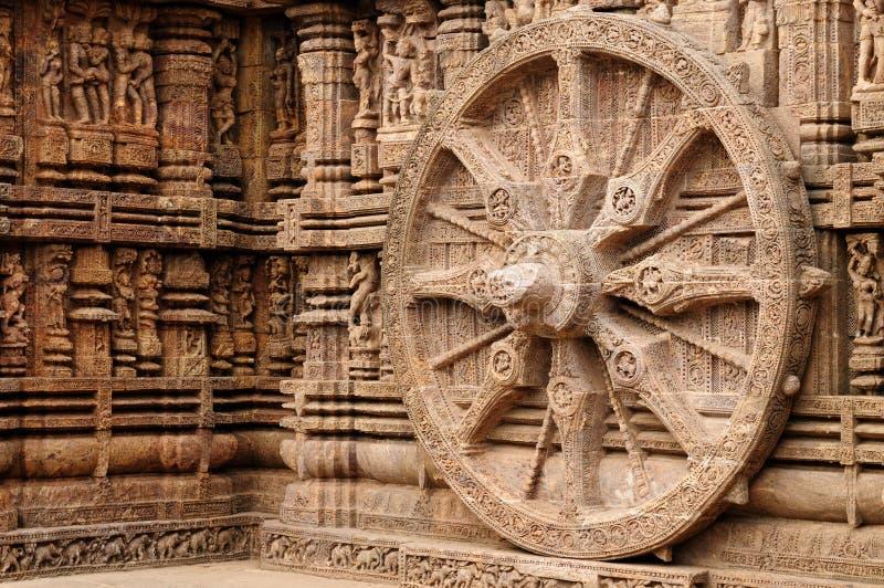 Templo de Konarak imagem de stock royalty free