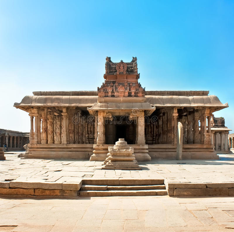 Templo de Krishna, Hampi imagenes de archivo