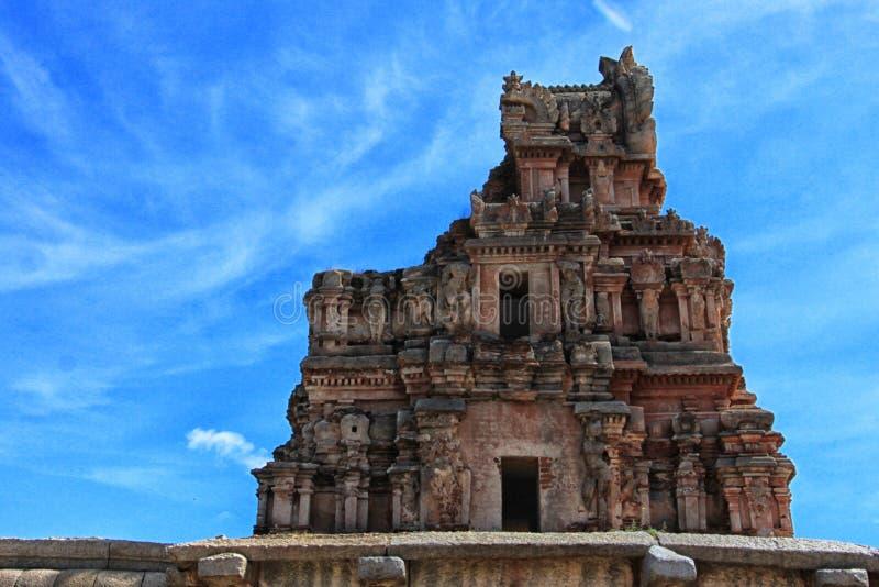 Templo de Krishna, Hampi fotos de archivo