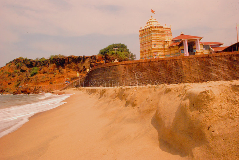 Templo de Kunkeshwar fotos de stock
