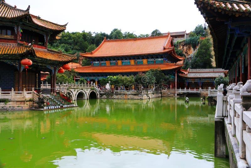 Templo de Kunming Yuantong, Yunnan, China fotos de archivo