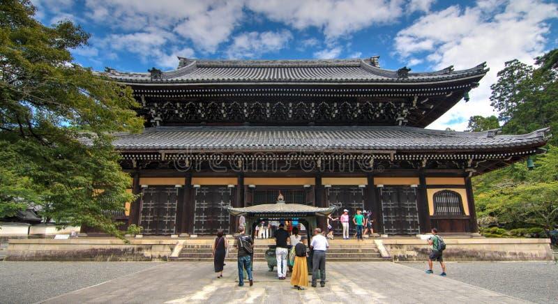 Templo de Kyoto en Japón fotos de archivo libres de regalías