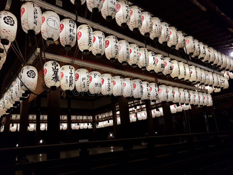 Templo de Kyoto, Japão fotos de stock