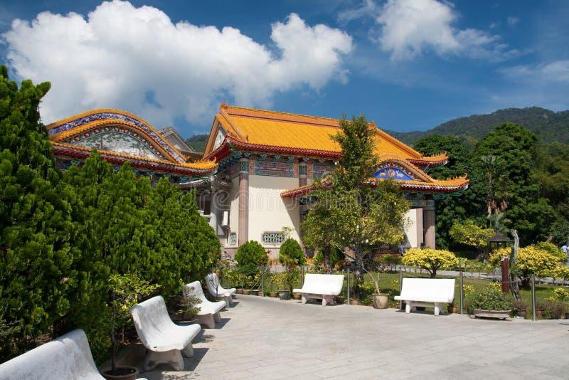 Templo de la dicha suprema Kek Lok Si, Penang imagen de archivo libre de regalías
