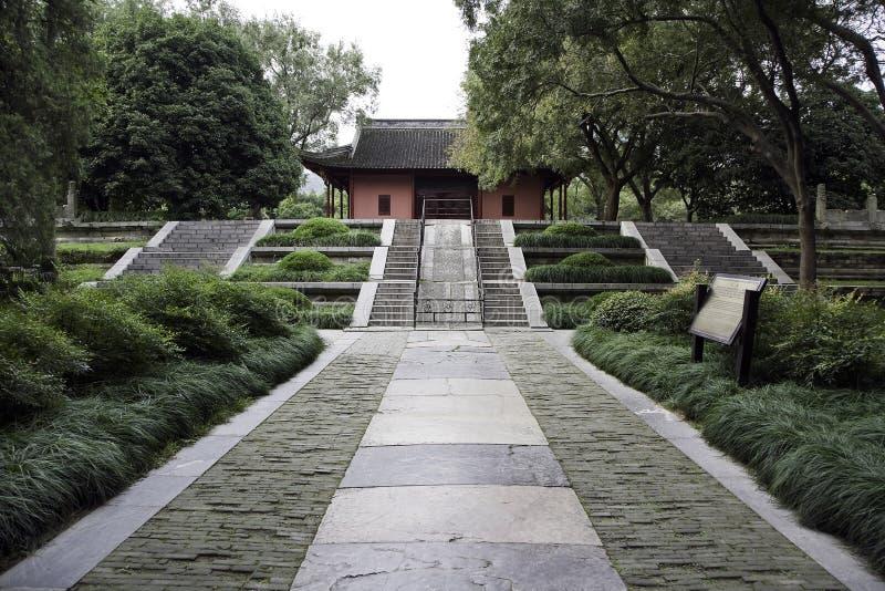 Templo de la dinastía de Ming foto de archivo