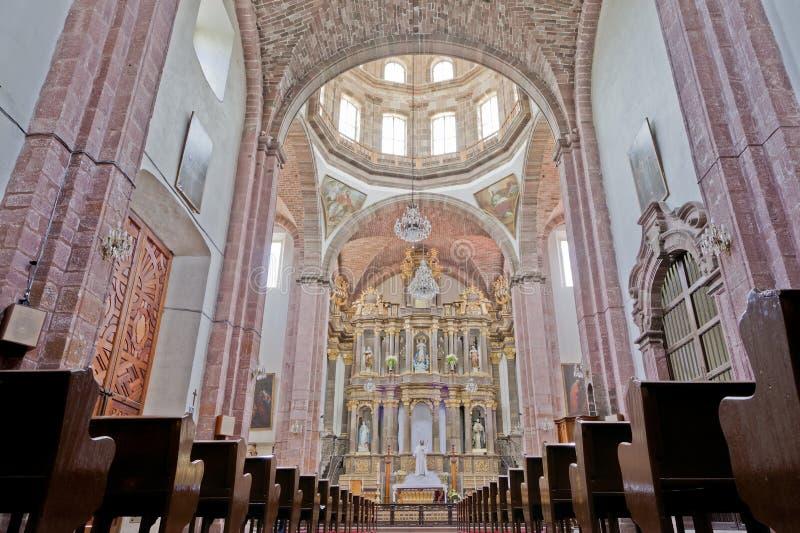 Templo de la Purísima Concepción (Las Monjas) dans San Miguel De image stock