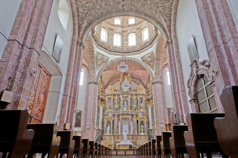 Templo de la Purísima Concepción (Las Monjas) in San Miguel de immagine stock
