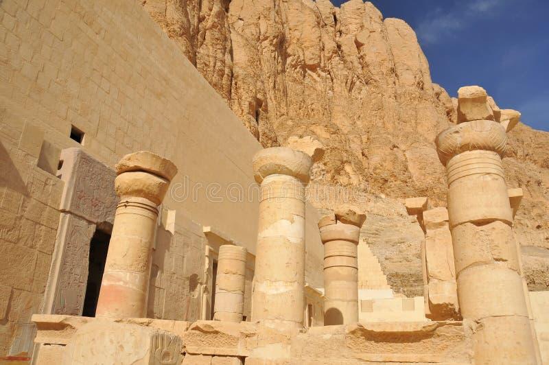 Templo de la reina Hatshepsut imagen de archivo libre de regalías