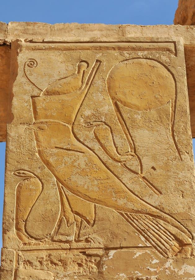 Templo de la reina Hatshepsut foto de archivo libre de regalías