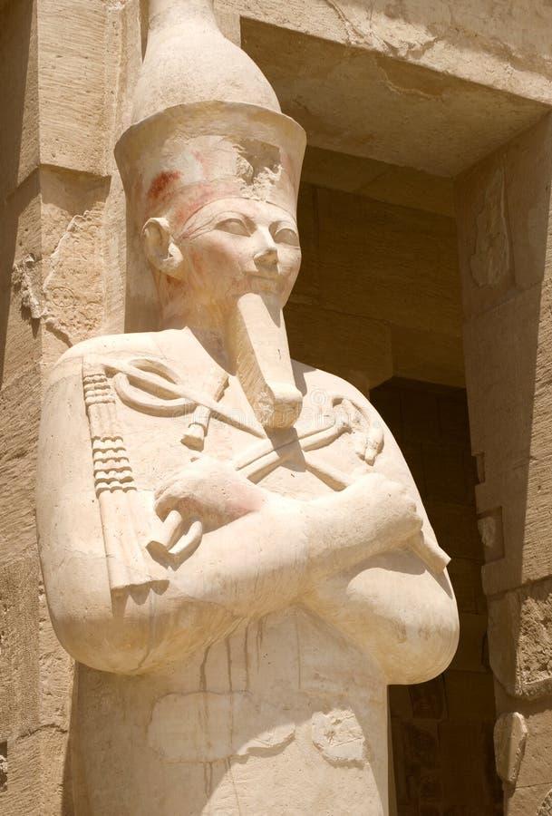 Templo de la reina Hatshepsut imagen de archivo