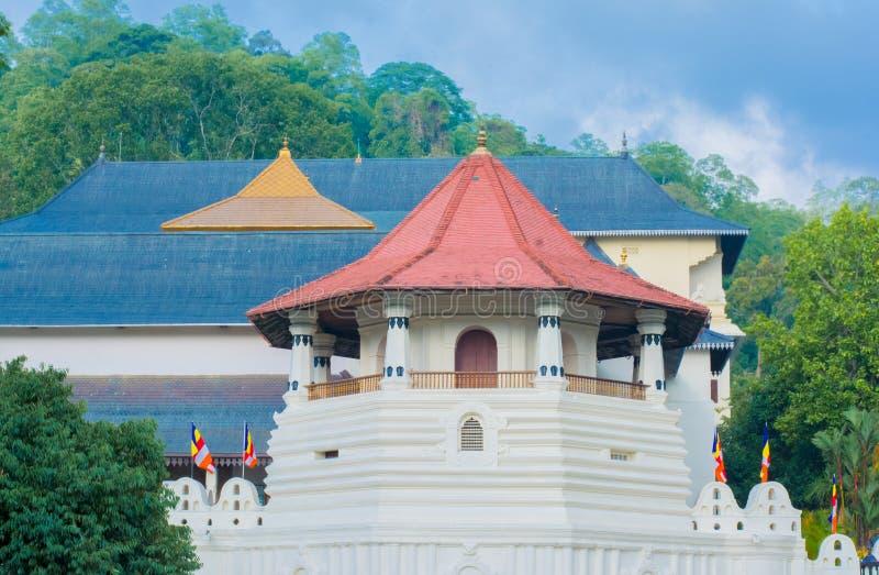 Templo de la reliquia sagrada del diente, Sri Lanka imagen de archivo
