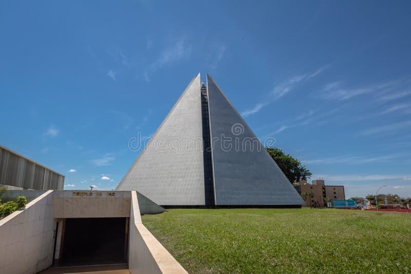 Templo de la voluntad - boa Vontade - Brasilia, Distrito federal, el Brasil de Templo DA foto de archivo libre de regalías