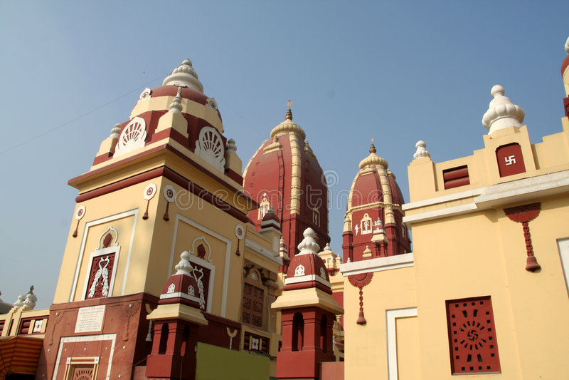 Templo de Lakshminarayana foto de archivo