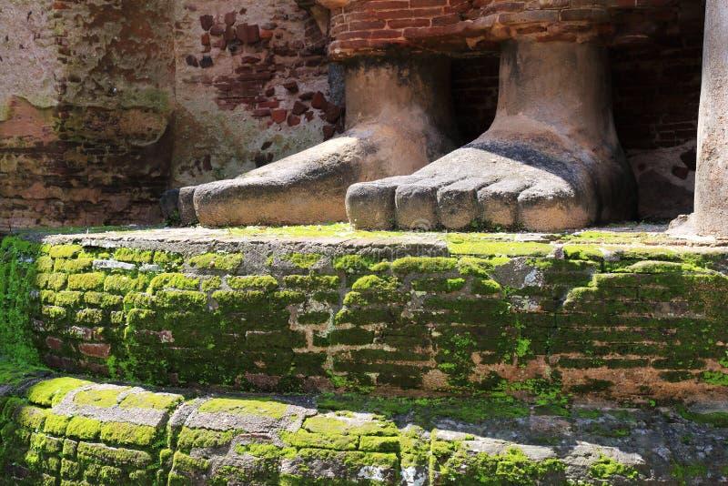 Templo de Lankatilaka en Polonnaruwa fotos de archivo libres de regalías