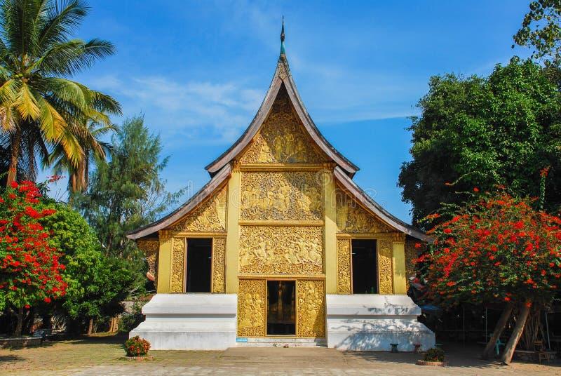 Templo de Laos fotos de archivo