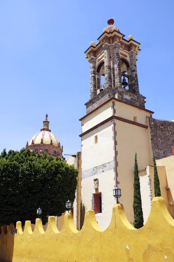 Templo de las monjas en San Miguel imagen de archivo libre de regalías