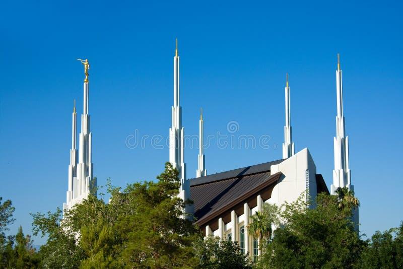 Templo de Las Vegas fotos de archivo libres de regalías
