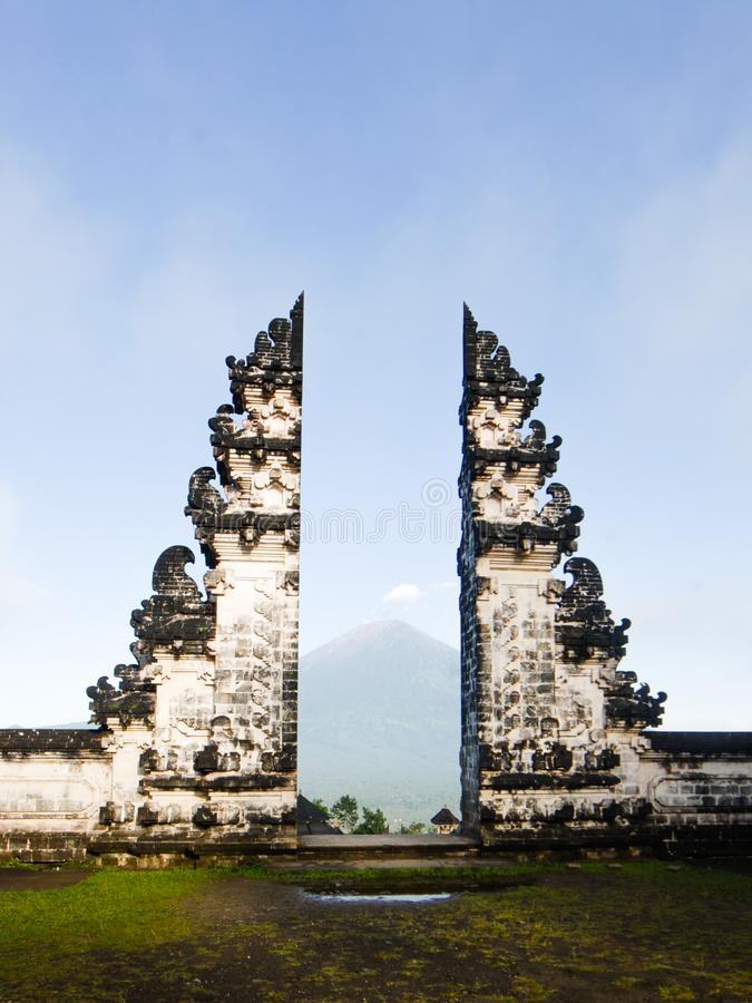 Templo de Lempuyang foto de stock royalty free