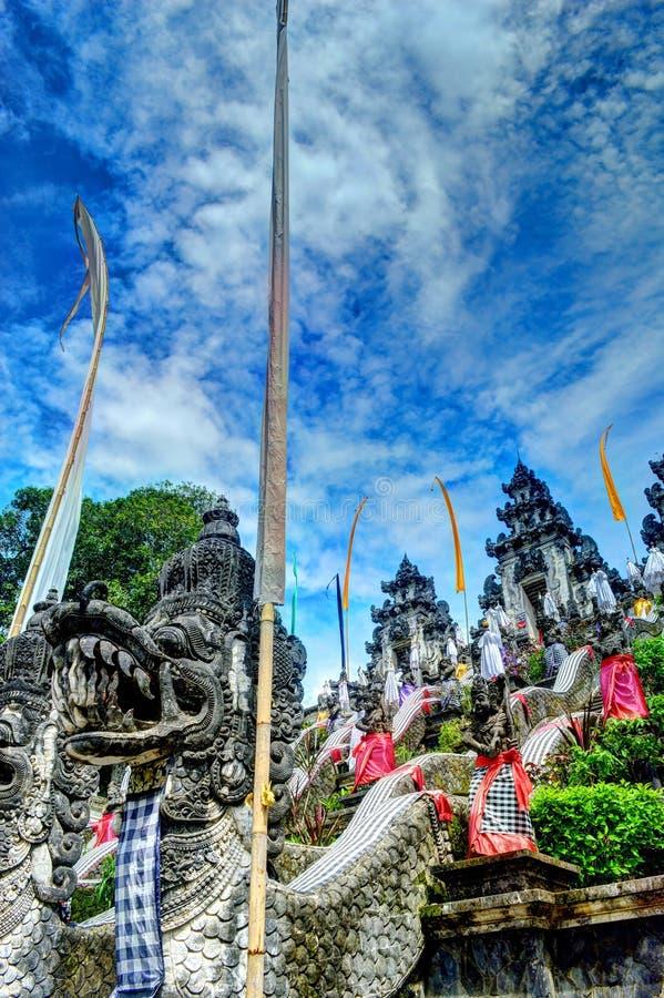 Templo de Lempuyang fotografía de archivo