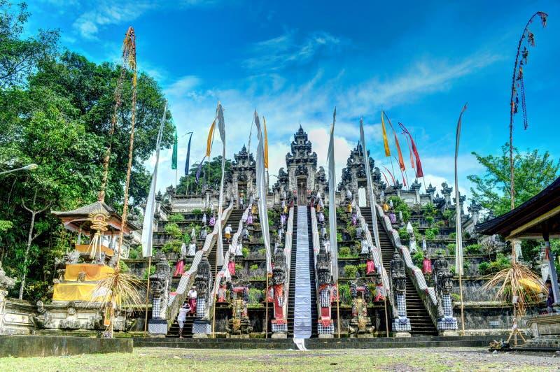 Templo de Lempuyang fotografia de stock