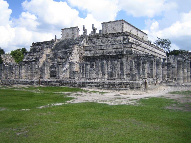 Templo de Los Guerreros images libres de droits