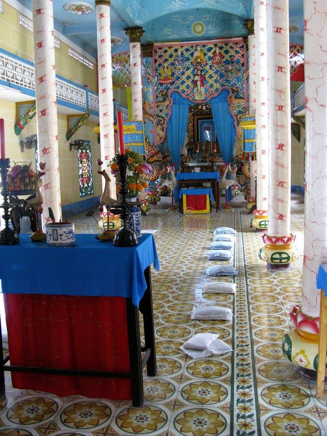 Templo de Lucas del compartimiento en Vietnam fotografía de archivo