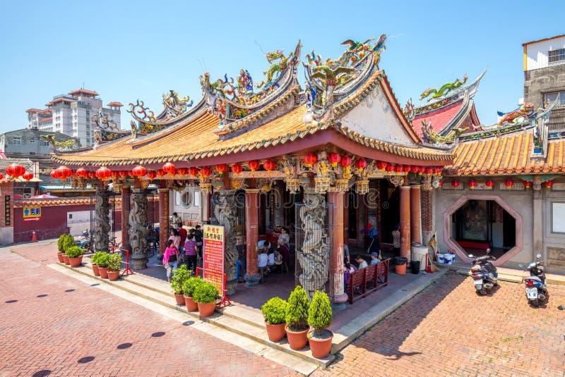 Templo de Lukang Mazu em changhua, Formosa foto de stock royalty free