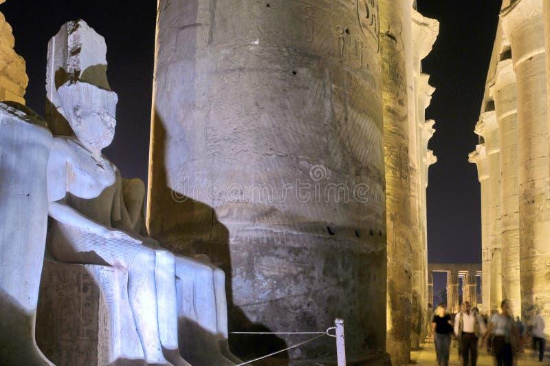 Templo de Luxor foto de stock