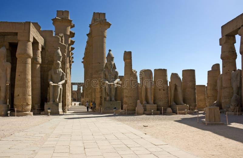 Templo de Luxor imagen de archivo