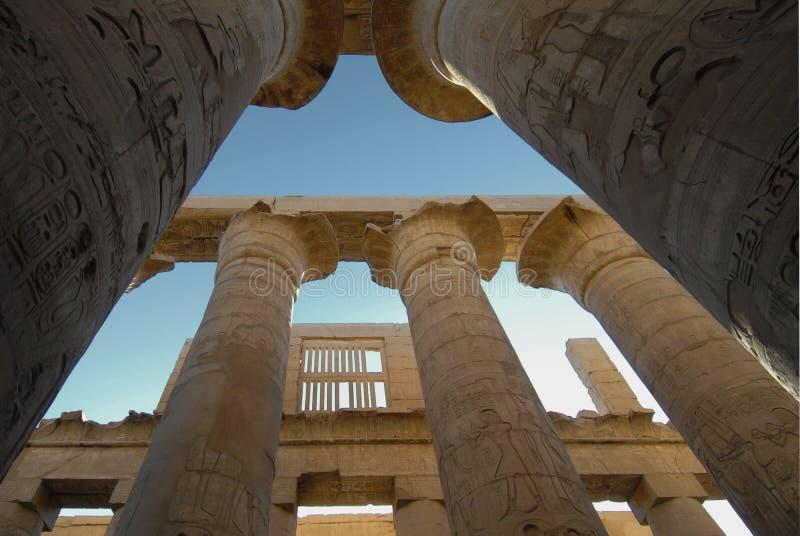 Templo de Luxor em Egipto imagens de stock royalty free