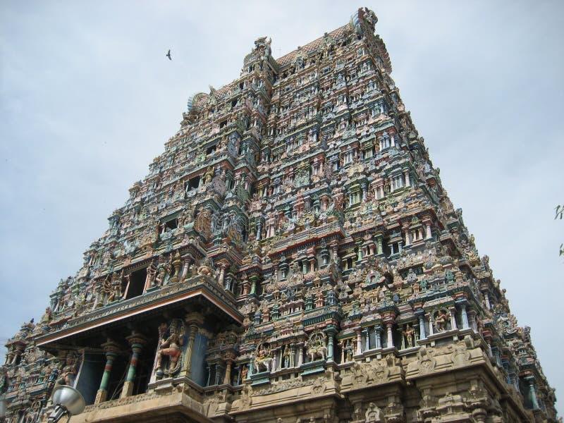 Templo de Madurai imagen de archivo libre de regalías