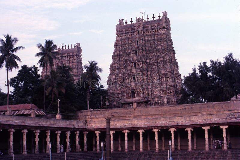 Templo de Madurai Meenakshi fotografía de archivo libre de regalías