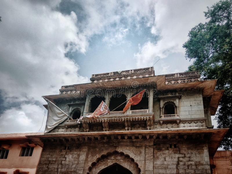 Templo de Mahakaleshwar imagem de stock royalty free