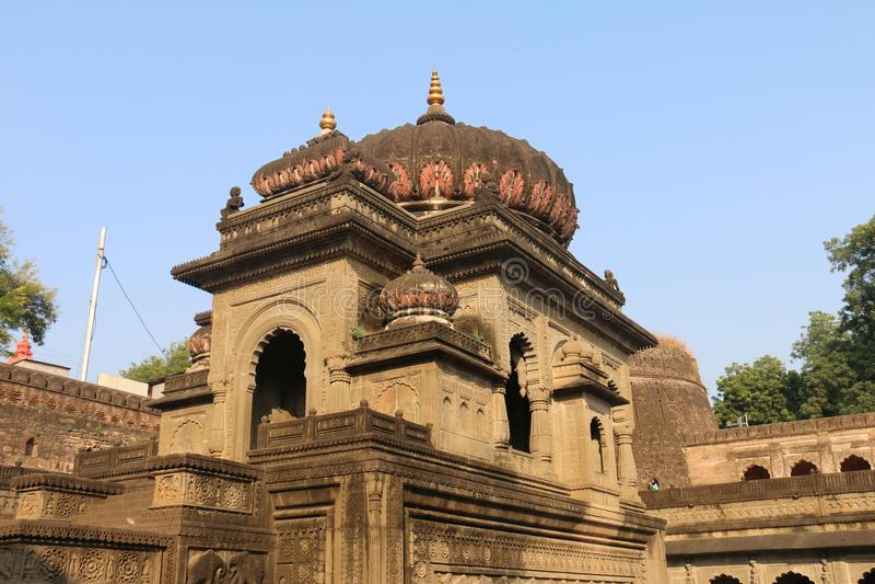 Templo de Maheshwar foto de stock