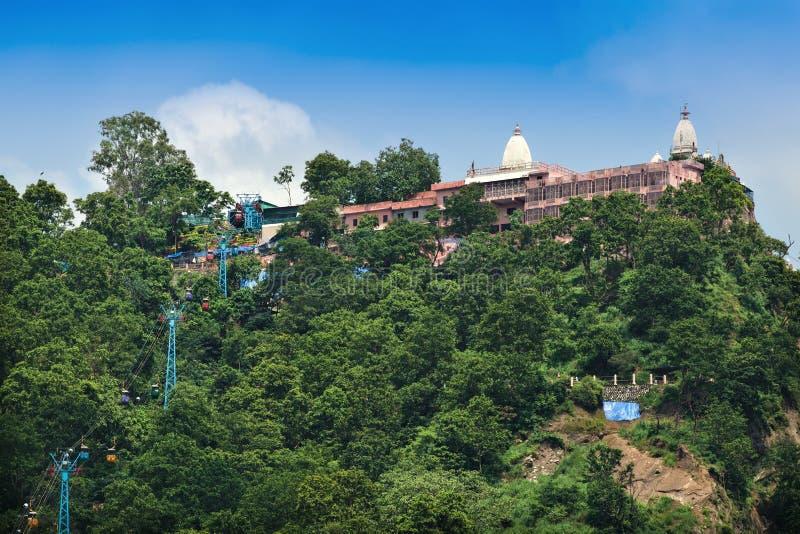 Templo de Mansa Devi fotos de stock