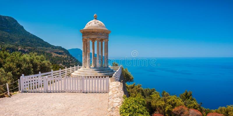 Templo de Marroig do filho na Espanhade Deià Majorca fotografia de stock royalty free