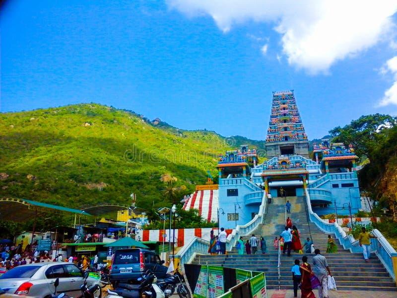 Templo de Maruthamalai, Índia imagem de stock royalty free