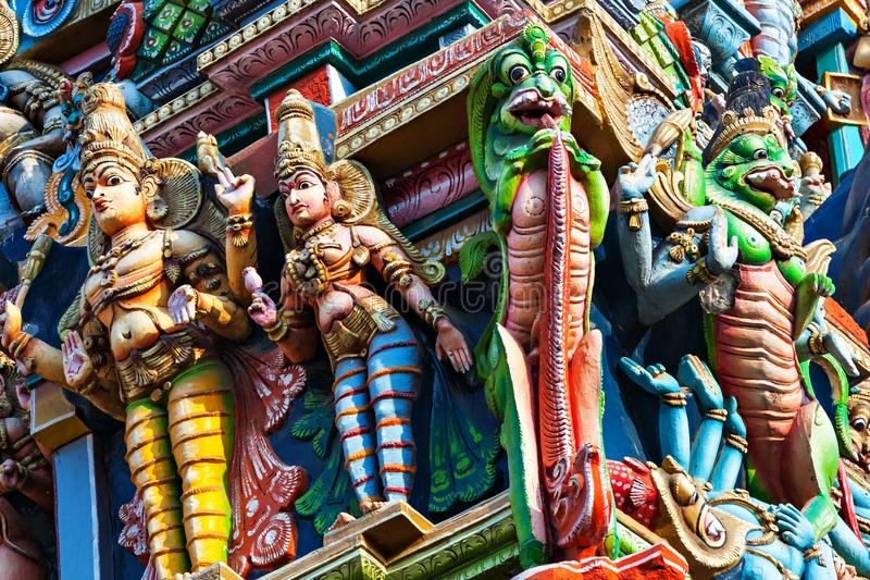 Templo de Meenakshi imagens de stock