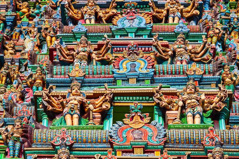 Templo de Meenakshi Amman en Madurai foto de archivo