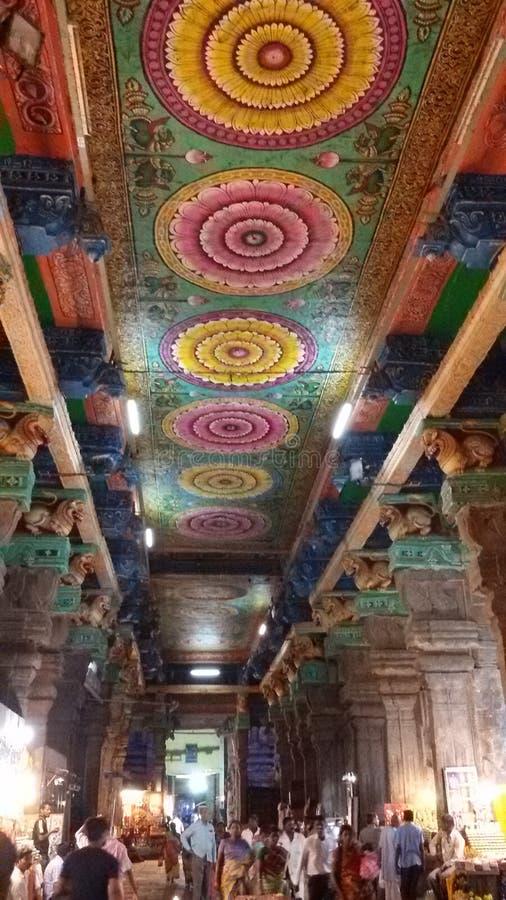 Templo de Meenakshi imágenes de archivo libres de regalías