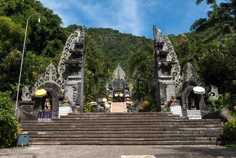 Templo de Melanting imagen de archivo libre de regalías