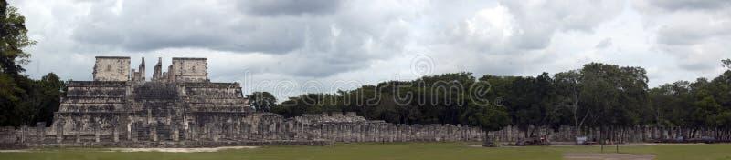 Templo de mil pilares foto de archivo