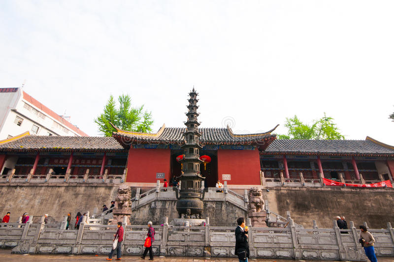 Templo de Mingjiao foto de stock royalty free