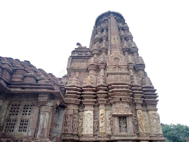 Templo de Mini Khajuraho, Bhilwara, Rajasthán fotos de archivo libres de regalías